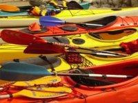 所有的皮划艇