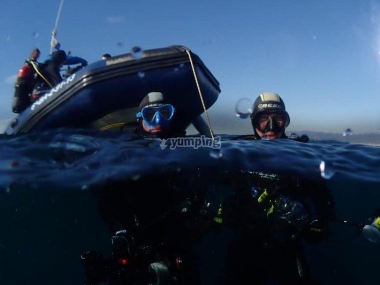 实用的潜水长模块在锡切斯