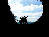 La cueva a contraluz