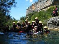 Barranquismo en el rio