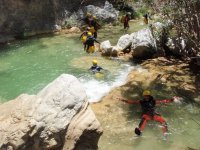 Barrancos de aguas turquesas