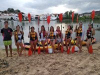 Despedida de soltera en kayak