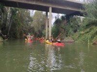 Aventura de Ribera en kayak