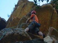 Entre las rocas