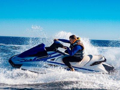 穿越阿吉拉斯的两人水上摩托艇路线30分钟