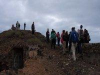 grupo de personas en una montana