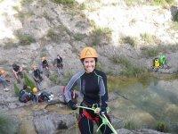第一个绕绳下降峡谷环境