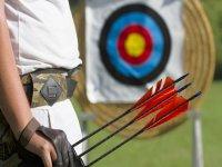 material para jugar al tiro con arco