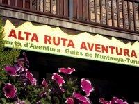 Entrance to the Alta Ruta facilities