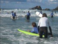 Lezioni di surf