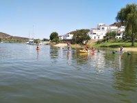 Kayaks en la frontera luso española