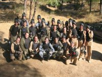 Photo paintball group