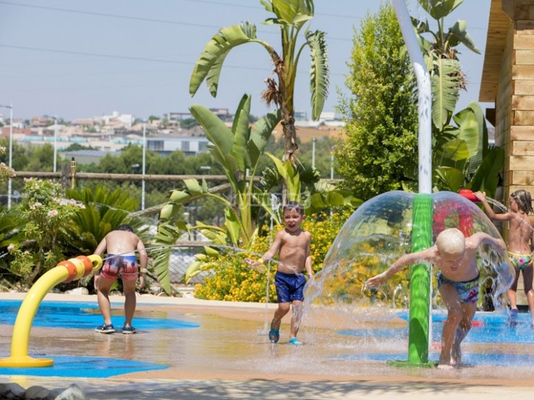 Parque acuático infantil en Murcia