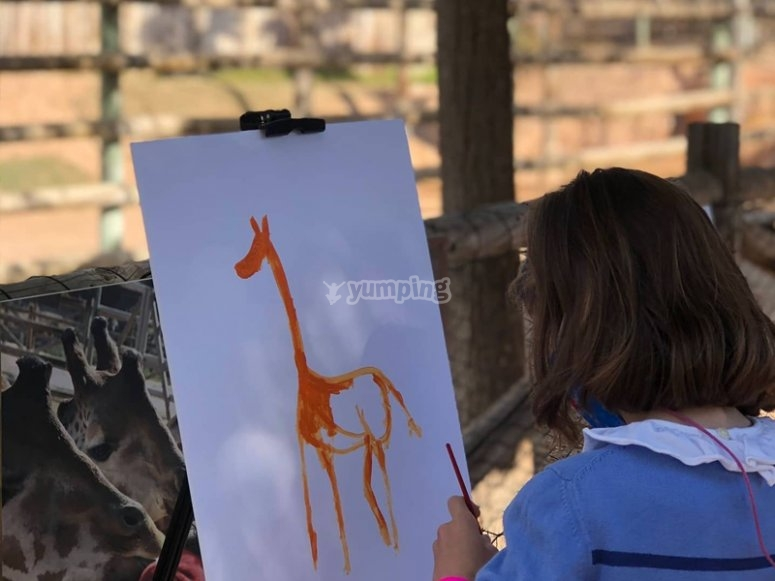 Talleres educativos del zoo