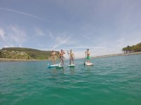 Gruppo paddle surf