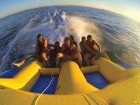 On board the flyfish