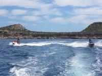 Excursion de moto de agua