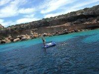 Practicar moto de agua en Ibiza