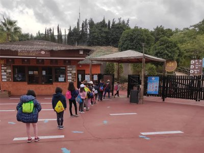 Zoo de Terra Natura Colegios Infantil Invierno