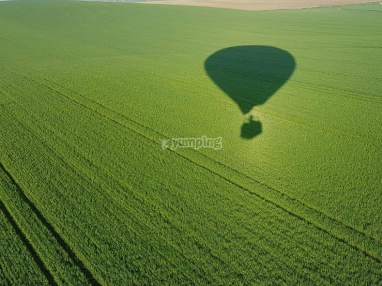 Balloon flight to Doñana National Park