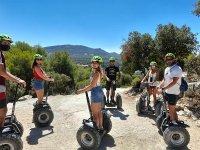 乘单车通过PozoAlcón进行团体游览
