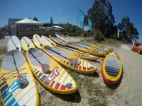 Paddle surfing equipment
