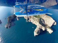 En vuelo sobre la Costa Brava