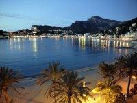 Costa de Mallorca de noche