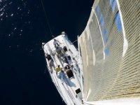 Sailboat from the sail