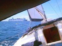 Navegando en Formentera
