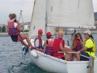 clase de navegacion a vela