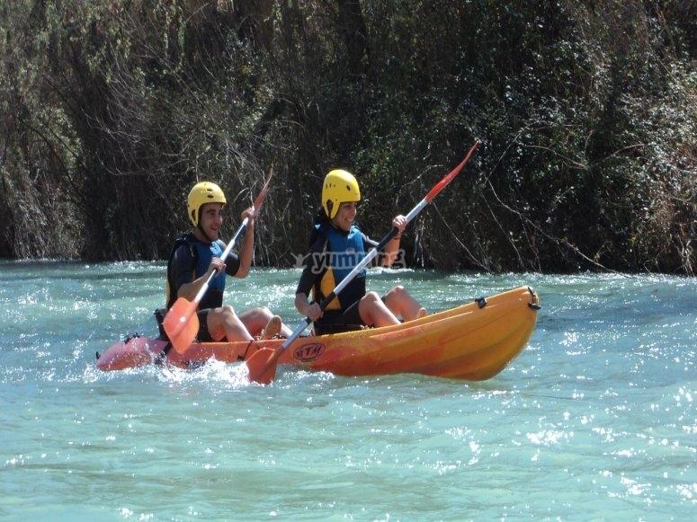 Canoa-Zattera Rio Genil