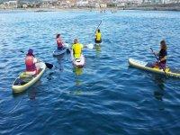 clase paddle surf para los mayores
