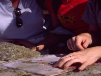 Orientación con mápa y brújula