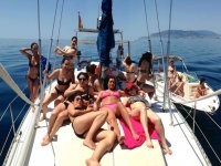 Despedida femenina en barco