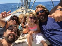 Sailing with the family