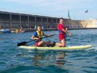 iniciate en el paddle surf