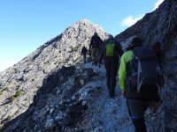 De senderismo por las montanas