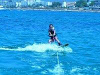 Iniziazione allo sci nautico a Ibiza