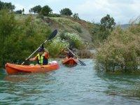 Rutas en kayak en despedidas de soltero