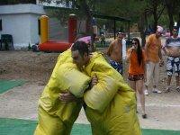 Sumo in bachelor parties