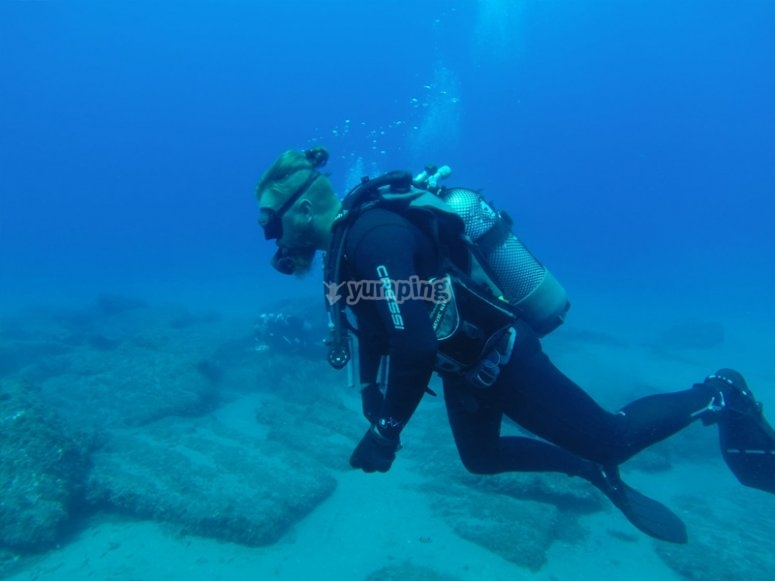 Open Water Diver course in Cabo de Gata