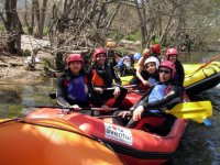 Happy after rafting