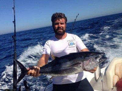 Salida de pesca de fondo desde barco Fuengirola 4h