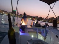 Gita in barca al tramonto e aperitivo Fuengirola 1h