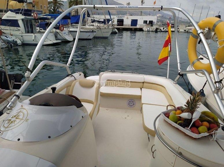 Embarcación Monterey en Fuengirola