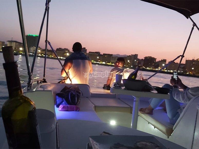Alquiler de barco