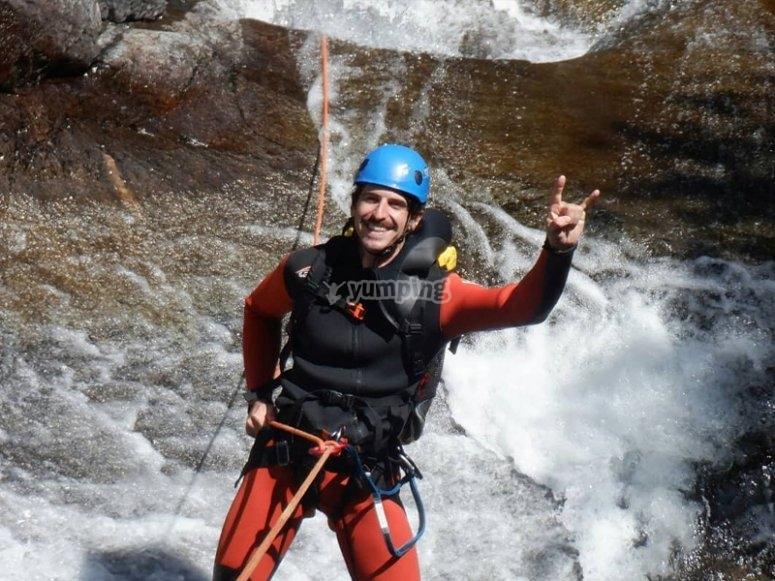 Canyoning in Bòixols
