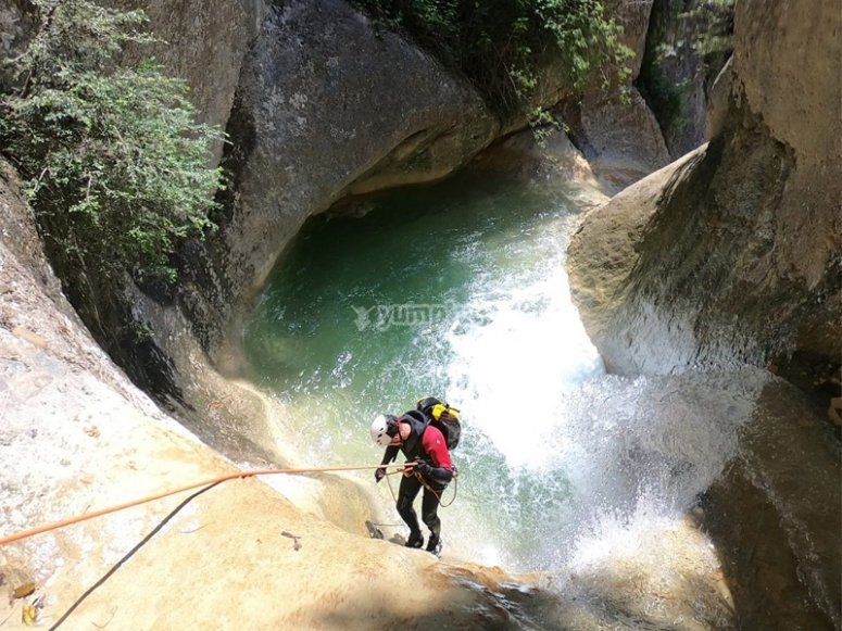 Canyoning for families