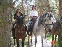 Rutas a caballo durante todo el año